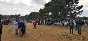 Spil Dağı bayram boyunca 20 bin kişi ağırladı