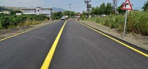 """Başkan Yılmaz: """"Samsun'da yol konforu artıyor"""""""