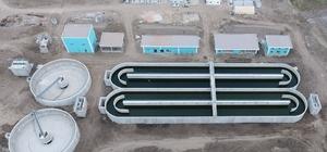 Soma Atıksu Arıtma Tesisinde imalat çalışmaları tamamlandı