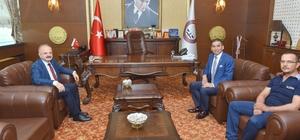 Vali Çakacak, Baro Başkanına ve Tarsus'a veda etti
