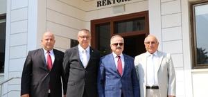 Vali Çakacak'tan Toros Üniversitesi'ne veda ziyareti