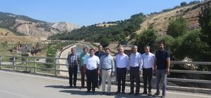 TBMM Başkanvekili Ahmet Aydın yatırımları inceledi