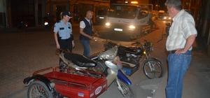 Kula'da emniyetten motosiklet uygulaması