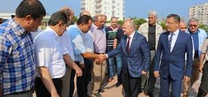 Vali Çakacak'ın Mersin'e veda ziyaretleri sürüyor