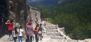 Trabzon'da milli parklara yoğun ilgi