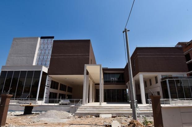 Hacı Bektaş Veli Kültür Merkezi'nin inşaatı tamamlandı
