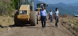 Serik ve Gazipaşa'da asfalt çalışması