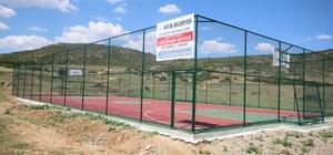 Beyşehir Belediyesi, şehit polisin adını spor tesisinde yaşatıyor