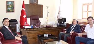 Başkan Atam'dan Celal Yücel'e 'hayırlı olsun' ziyareti