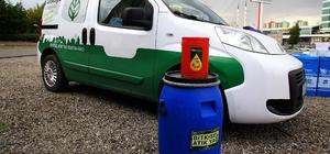 Çankaya'da atık yağlar biodizele dönüşüyor