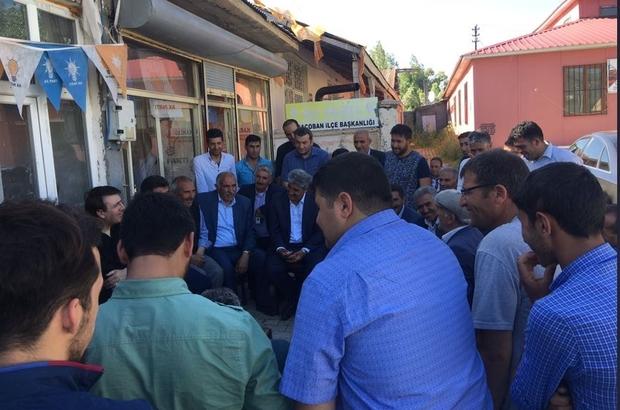 Aydemir Karaçobanlıların konuğu oldu