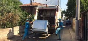 Süleymanpaşa Belediyesi bayramda sahilden 278 ton çöp topladı