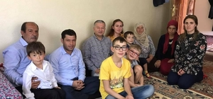 Develi Kaymakamı Duru'dan 15 Temmuz Gazisi'ne Ziyaret