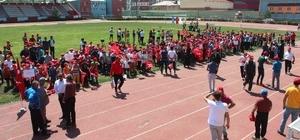 Ağrı'da Yaz Spor Okulları açılış töreni gerçekleştirildi