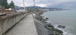 Akçaabat sahil şeridi yeni yürüyüş yoluna kavuşuyor