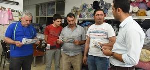 Şahinbey Belediyesi tekstil kent esnafını bilgilendirdi