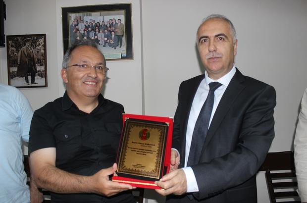 Vali Hasan Karahan, veda turları kapsamında Giresun'da gazetecilerle buluştu.