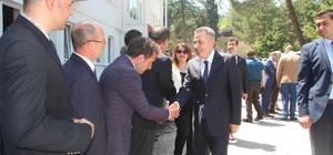 Vali Elban Bilecik'e veda ederek yeni görevi için Ağrı'ya yola çıktı