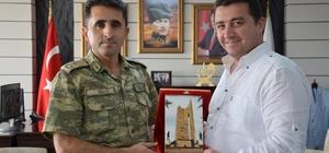 Binbaşı Alper Koç'tan Başkan Bakıcı'ya veda ziyareti