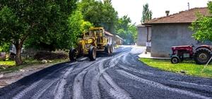 Kırsal mahalleler bir bir asfaltlanıyor