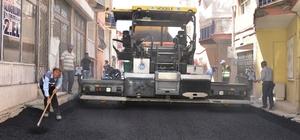 Hacı Abdi Mahallesinde asfalt çalışmaları devam ediyor