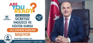 Pamukkale Belediyesi İngilizce kursları