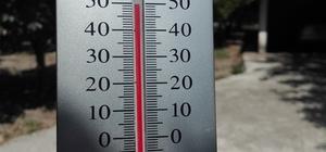 uğla'da sıcak hava bunalttı
