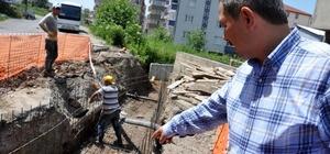 Kdz. Ereğli Belediyesi, finişerli sıcak asfalta başladı