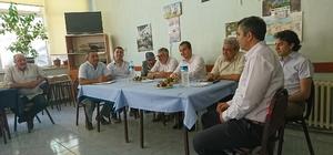 İnönü'de 'Halk' toplantısı düzenlendi
