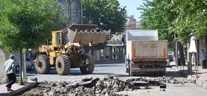 Kahta'da 'Prestij Cadde' çalışmaları başladı