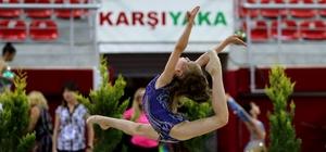 İzmir'de jimnastikte uluslararası buluşma