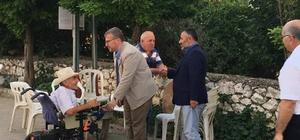 Milletvekili Eldemir ve Merkez İlçe Başkan Yıldırım'dan köylere ziyaret