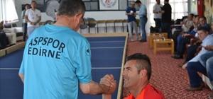 Edirne Huzurevi Bocce Takımı galibiyete doymuyor