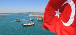 Şile'de 1 Temmuz Denizcilik ve Kabotaj Bayramı kutlandı