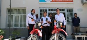 Birecik Emniyet Müdürlüğüne 2 motosiklet