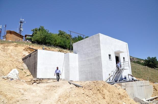 Tunceli'ye bin tonluk yeni su deposu