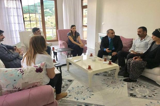 Tunceli'nin yeni valisi ilk ziyaretini şehit ailesine yaptı