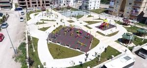 Belediyeden iki mahalleye park