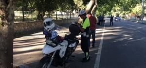 Kahramanmaraş'ta 38 motosiklet trafikten men edildi