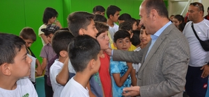 Yüksekova'da yaz spor okulları açıldı