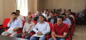 Başkale Belediyesindeki işçilere eğitim