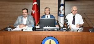 Şahinbey Belediyesi temmuz ayı meclis toplantısı yapıldı