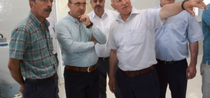 AK Partili Turan, Lapseki su arıtma tesisini gezdi