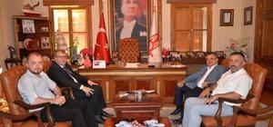 AK Parti heyetinden Başkan Yağcı'ya ziyaret