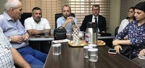 AK Parti Bilecik il ve merkez ilçe yönetim kurulu üyeleri haftalık istişare toplantısında buluştu