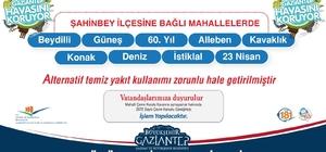 Gaziantep 'Temiz Yakıt' kullanımında iddalı