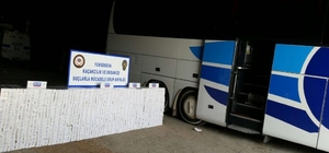 Yüksekova'da 11 bin 900 bin paket kaçak sigara ele geçirildi