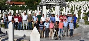 Şehzadeler'den Bosna'ya kardeş ziyareti