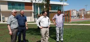 Başkan Yazgı, tematik park alanında incelemede bulundu