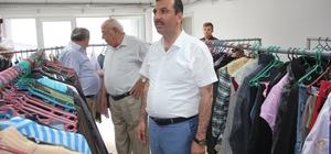 Kavak Belediyesinden ihtiyaç sahiplerine giysi yardımı